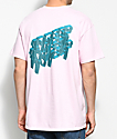 10 Deep 3D camiseta rosa