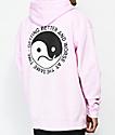 10 Deep Confused State Pink Hoodie