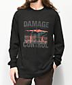 10 Deep Damage Control Black Long Sleeve T-Shirt