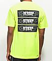 10 Deep Triple Stack III Neon Yellow T-Shirt