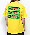 10 Deep Triple Stack III Yellow T-Shirt