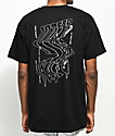 10 Deep Warp Black T-Shirt