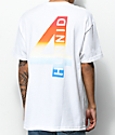 4 Hunnid Rainbow 4 White T-Shirt
