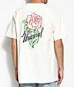 4 Hunnid Tentacion camiseta en color crema