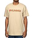 4 Hunnid Title camiseta marrón