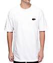 40s & Shorties Flip Flop camiseta blanca