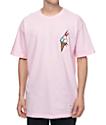 40s & Shorties Ice Cream camiseta rosada