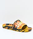 40s & Shorties Jungle Camo Slide Sandals