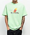 40s & Shorties Magic Marker Mint Green T-Shirt