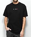 40s & Shorties Multicolor camiseta negra