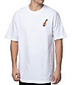40s & Shorties Rose 40 camiseta blanca