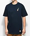40s & Shorties Rose 40 Navy T-Shirt