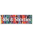 40s and Shorties Cosby Bar Sticker
