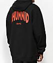 4Hunnid Arch Black Hoodie