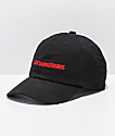 4Hunnid Stay Dangerous Black Strapback Hat