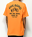 5Boro 4-5-6 Dice Orange T-Shirt