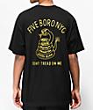 5Boro Don't Tread Black & Gold T-Shirt