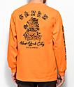 5Boro Hawaii Division Orange Long Sleeve T-Shirt
