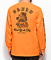 5Boro Hawaii Division camiseta naranja de manga larga