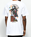 5Boro Thirsty Reaper camiseta blanca