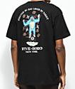 5Boro x DS Lover Fighter camiseta negra