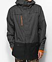 686 Anthem 10K chaqueta de snowboard de mezclilla negra