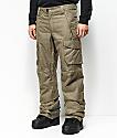 686 Infinity Cargo 10K pantalones de snowboard caqui