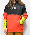 686 Knockout Dip Dye Tech Fleece Hoodie