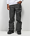 686 Raw 10k pantalones de snowboard de mezclilla negra