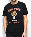 A$AP Mob Attitude camiseta negra