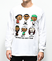 A$AP Mob Too Cozy Graphic camiseta blanca de manga larga
