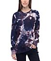 A-Lab Aby Alien camiseta de manga larga con efecto tie dye en azul y morado