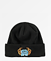 A-Lab Burning Rose Black Beanie