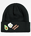 A-Lab Cameron Breakfast Black Beanie