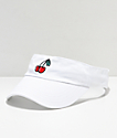 A-Lab Cherries White Visor