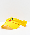 A-Lab Cherries Yellow Visor