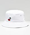 A-Lab Cherries sombrero de cúbo blanco