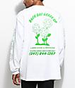 A-Lab Dat Grass camiseta blanca de manga larga