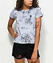 A-Lab Ezra Alien camiseta gris con efecto tie dye