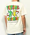 A-Lab Flipside Records camiseta blanquecina
