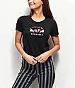 A-Lab Hana Miserable Black Crop T-Shirt