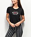 A-Lab Hana Miserable camiseta corta negra