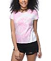 A-Lab Kito Space Babe camiseta con efecto tie dye en rosa