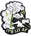 A-Lab Lit AF Sticker