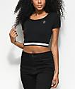 A-Lab Malorie Alien camiseta corta negra