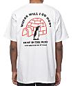 A-Lab Save The Ice camiseta blanca
