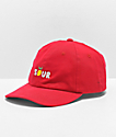 A-Lab Sour Red Strapback Hat
