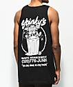 A-Lab Stinkys camiseta negra sin mangas