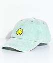 A-Lab Upside Down Smile Face Strapback Hat