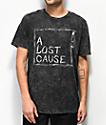 A Lost Cause Slashed Out camiseta negra